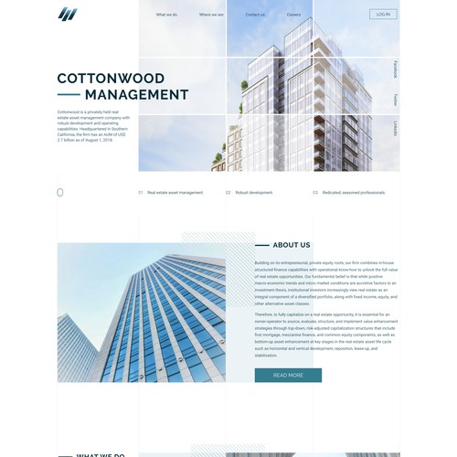 Real Estate Company Website