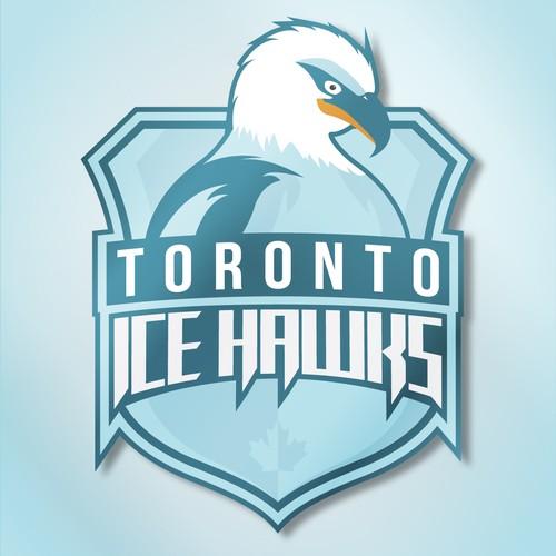 Icy logo for hockey team