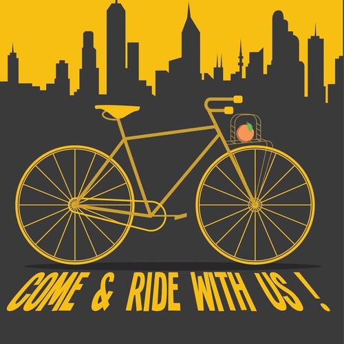 bikes flyer design