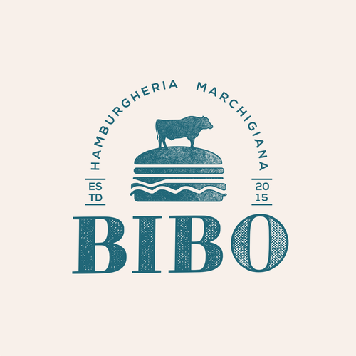 Vintage LOGO for an Italian Hamburger Shop!