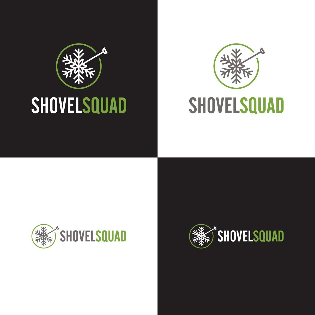 Logo Design for Residential Snow Removal Company (Shovel Squad)