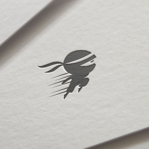 Ninja logo concept