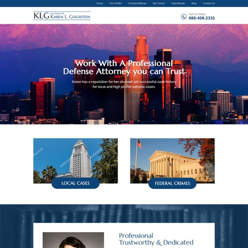 Attorney website revamp