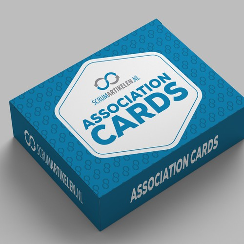 Create a nice Box design and backside of card design for Association Cards