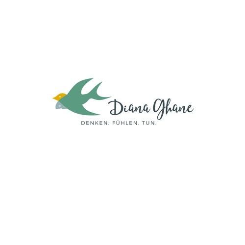 Logokonzept für ein Coaching-Unternehmen.