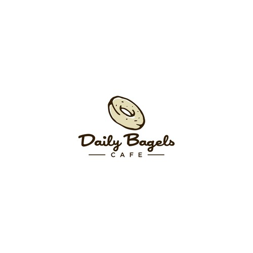Logo Design for Bagel & Coffee Shop