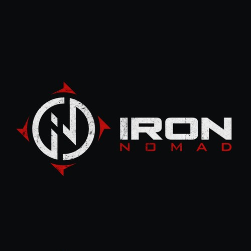 Iron Nomad Logo design