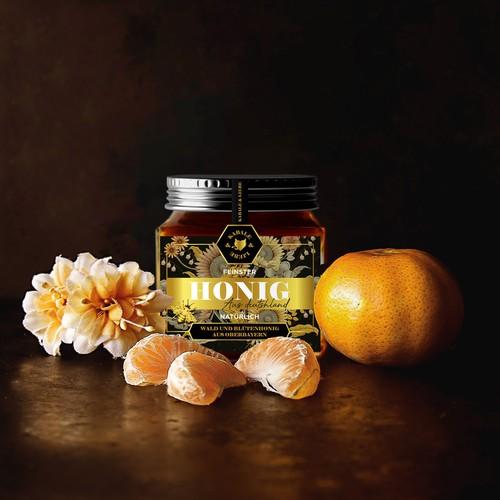 Luxury honey packaging