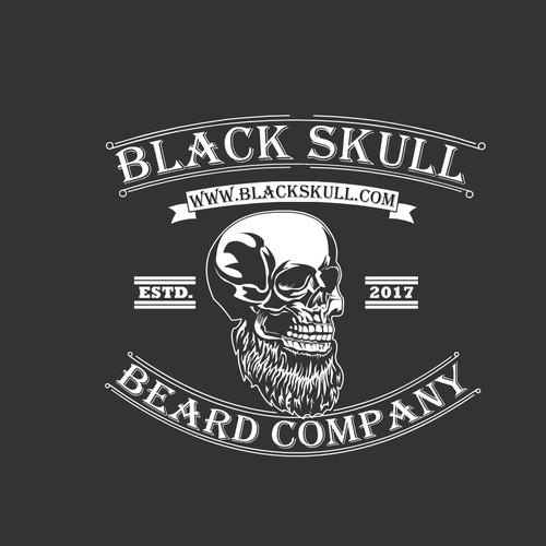 Bad ass Skull logo