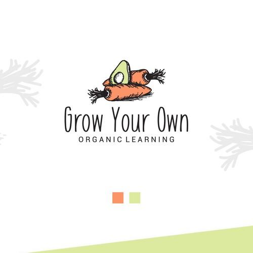 Organic Food Logo Design