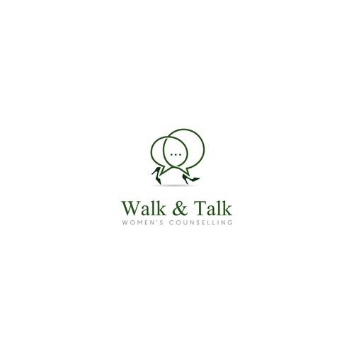 Create a classy feminine logo for walk&talk counselling