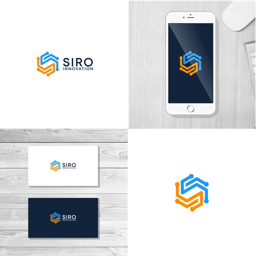 Logo concept for  IT startup