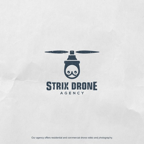 Strix Drone with Owl