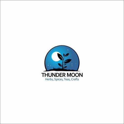 """Design logo for """"Thunder Moon"""""""