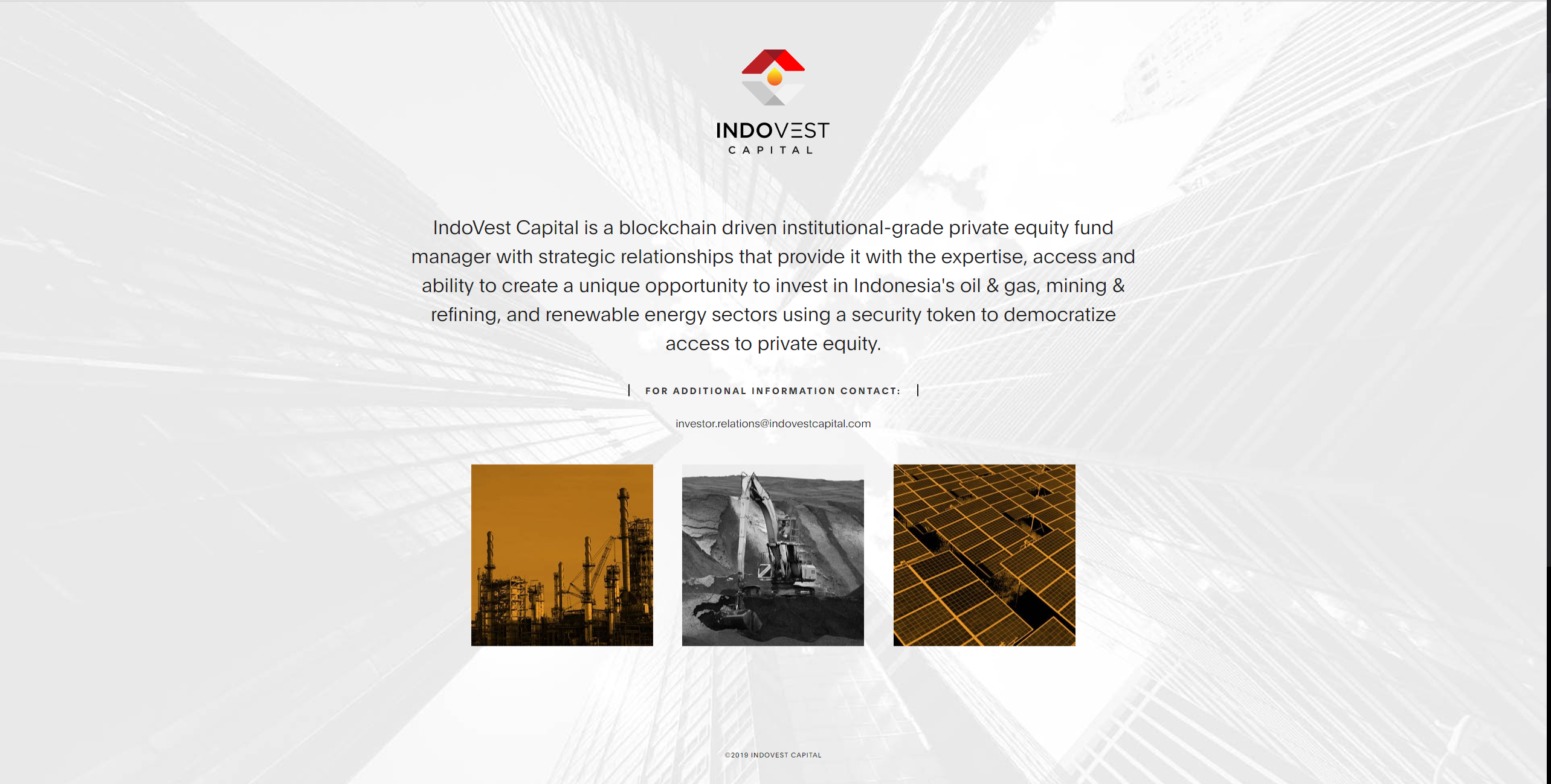 IndoVest website coding and launching