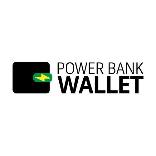 Logo concept for Wallet with built in Charging