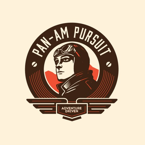 ADVENTURE LOGO for PAN-AM PURSUIT