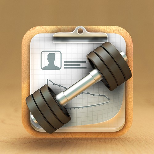 iPad App Icon for Fitness Hawk