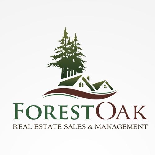 Logo concept for ForestOak