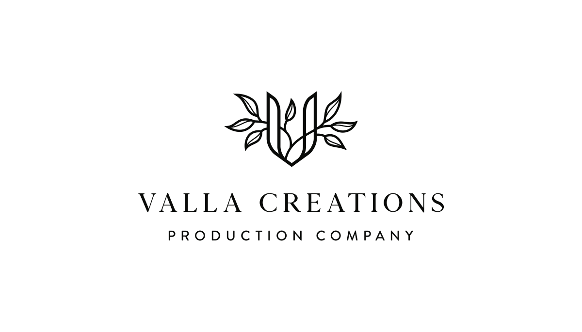 Logo and business card for a production company
