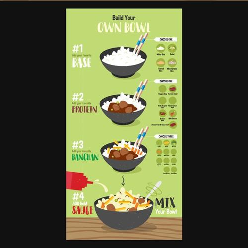 Hom Korean Kitchen Infographic Poster