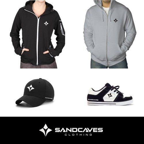 Logo for Sandcaves Clothing
