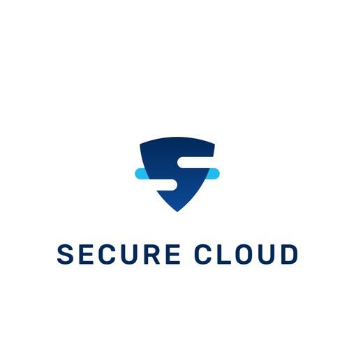 Secure Cloud Logo design
