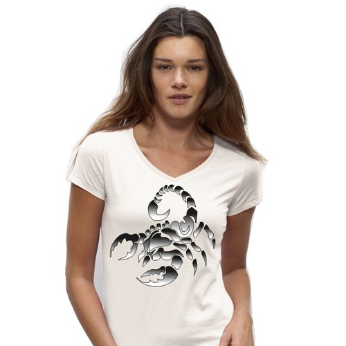 Create a Design for Dusty Paw that Elevates Female T-Shirt/Top to Fashion Wear