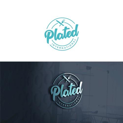 Plated International Logo Design