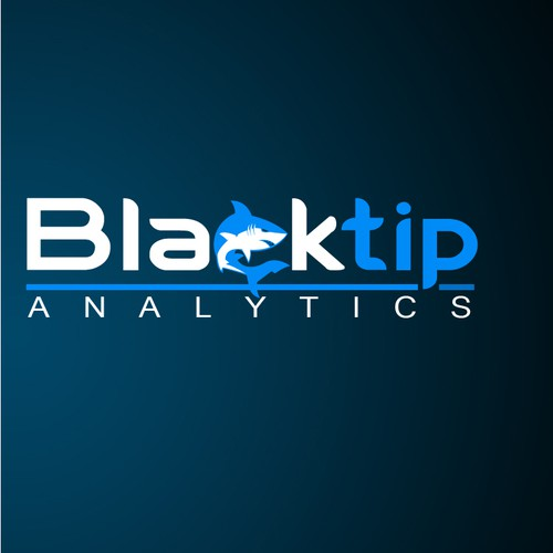 Create the next logo for Blacktip Analytics