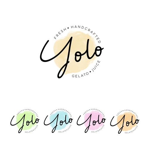 yolo , fresh handcrafted gelato juice