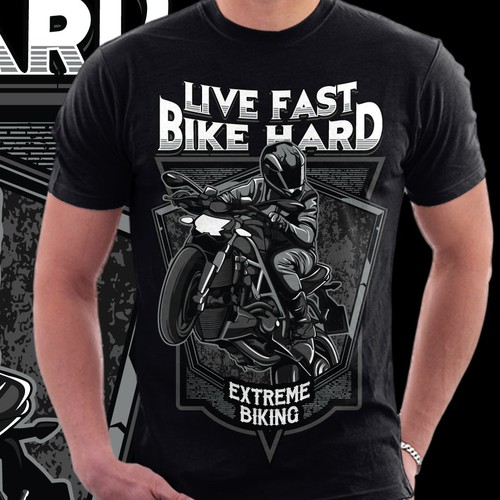 Live Fast - Bike Hard
