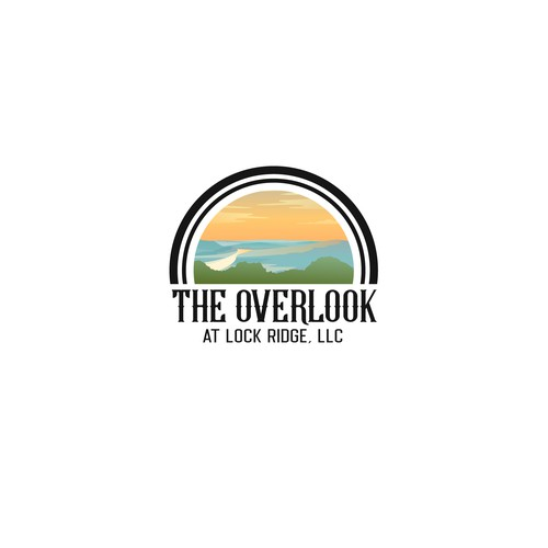Overlook Landscape Logo