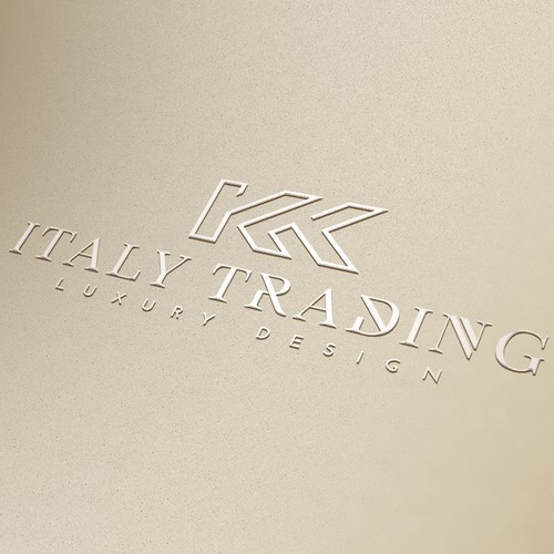 Logo for Italian company operating in Asia for luxury furniture projects.