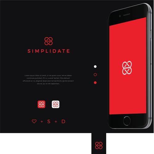 Simplidate logo design