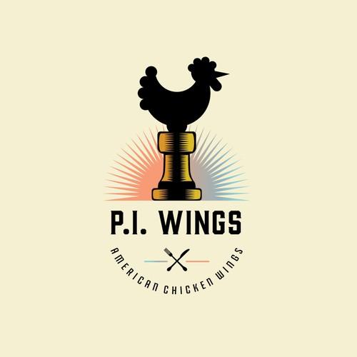 Chicken Wings Logo