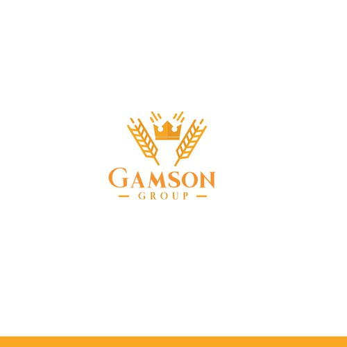 logo concept for gamson group