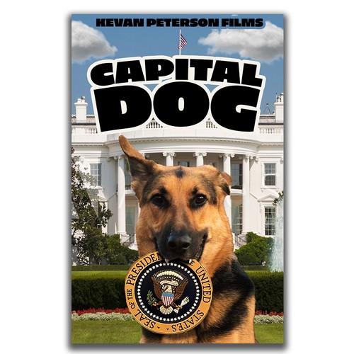 Capital Dog Poster