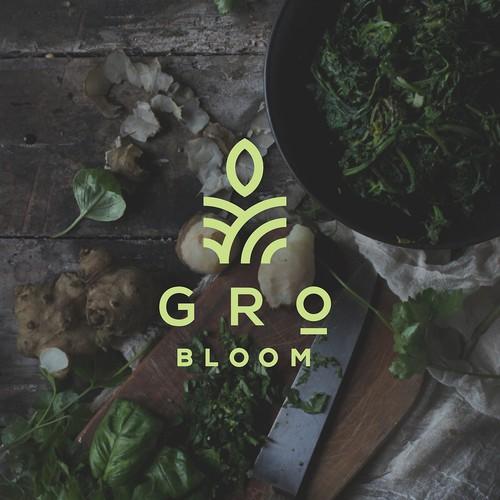 Logo concept for a gardening service