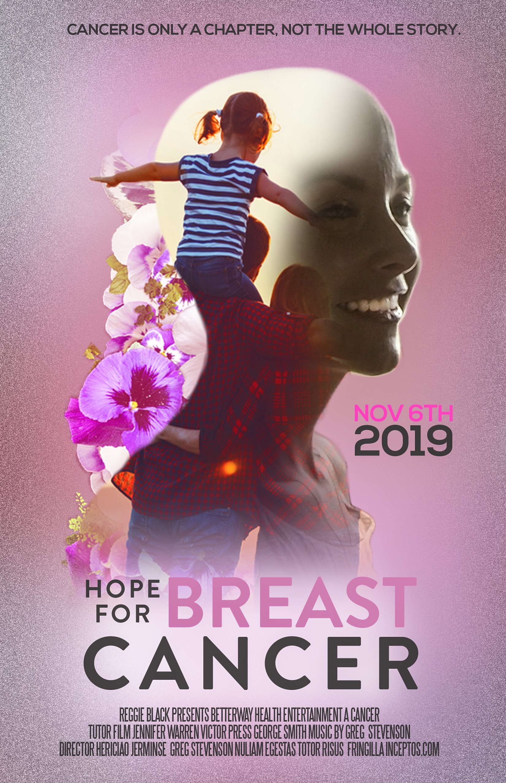 Movie Poster for a Documentary about Breast Cancer