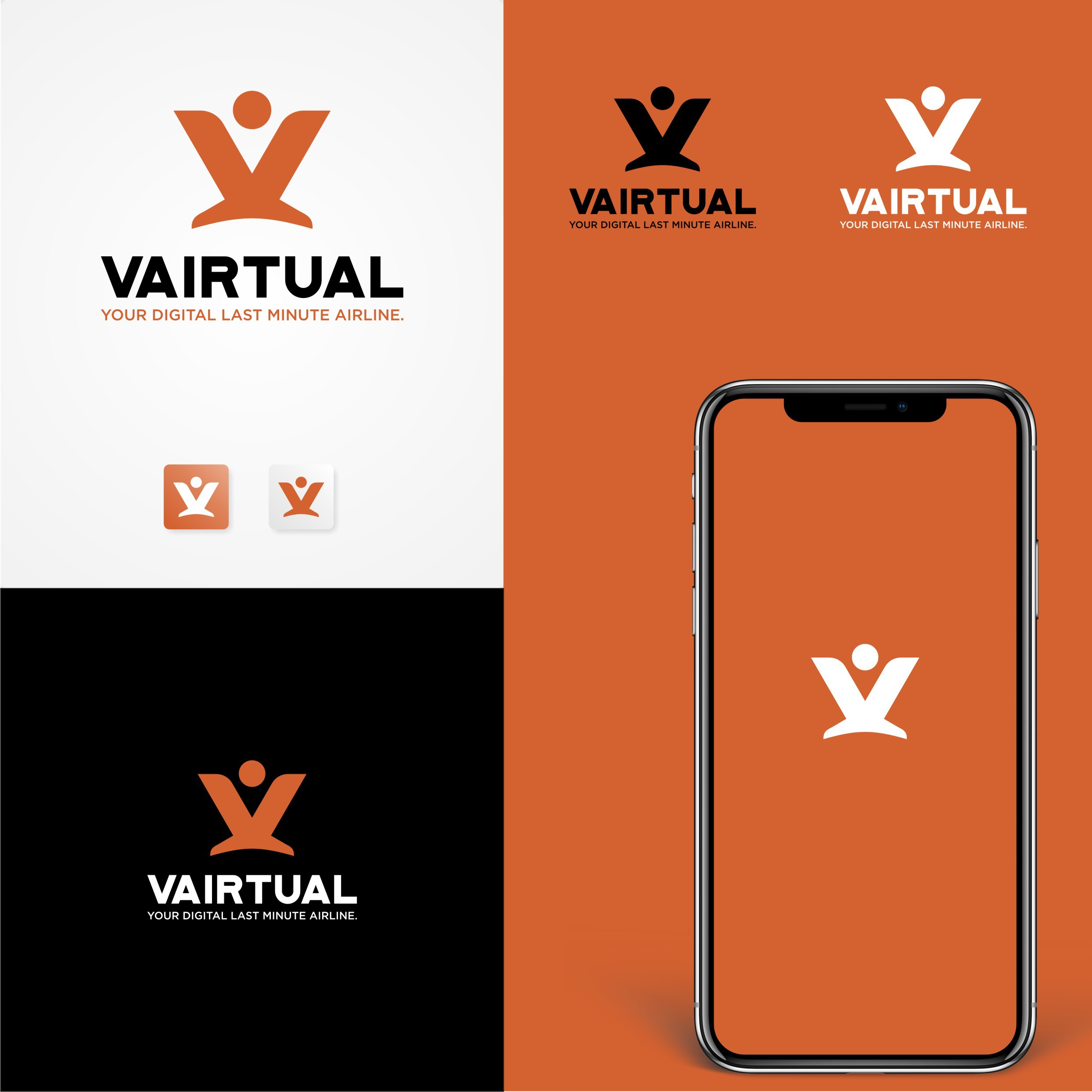 Vairtual - Your digital last minute airline.