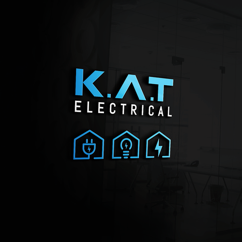 Logo concept for K.A.T electrical