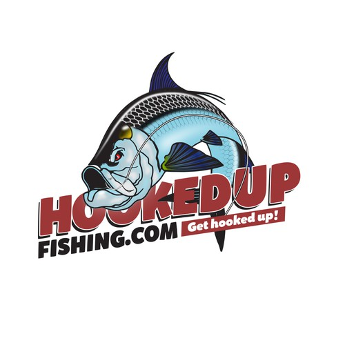 Design an awesome fishing apparel company logo