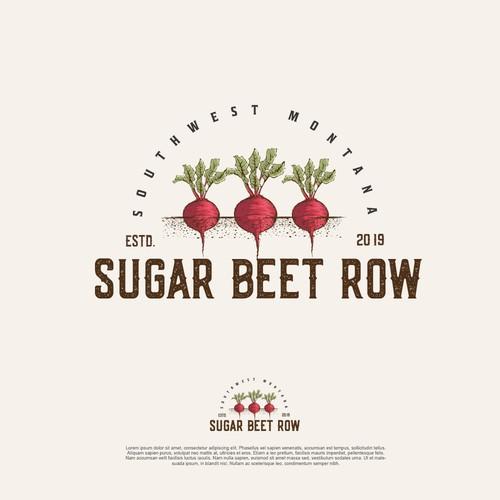 Sugar Beet Row
