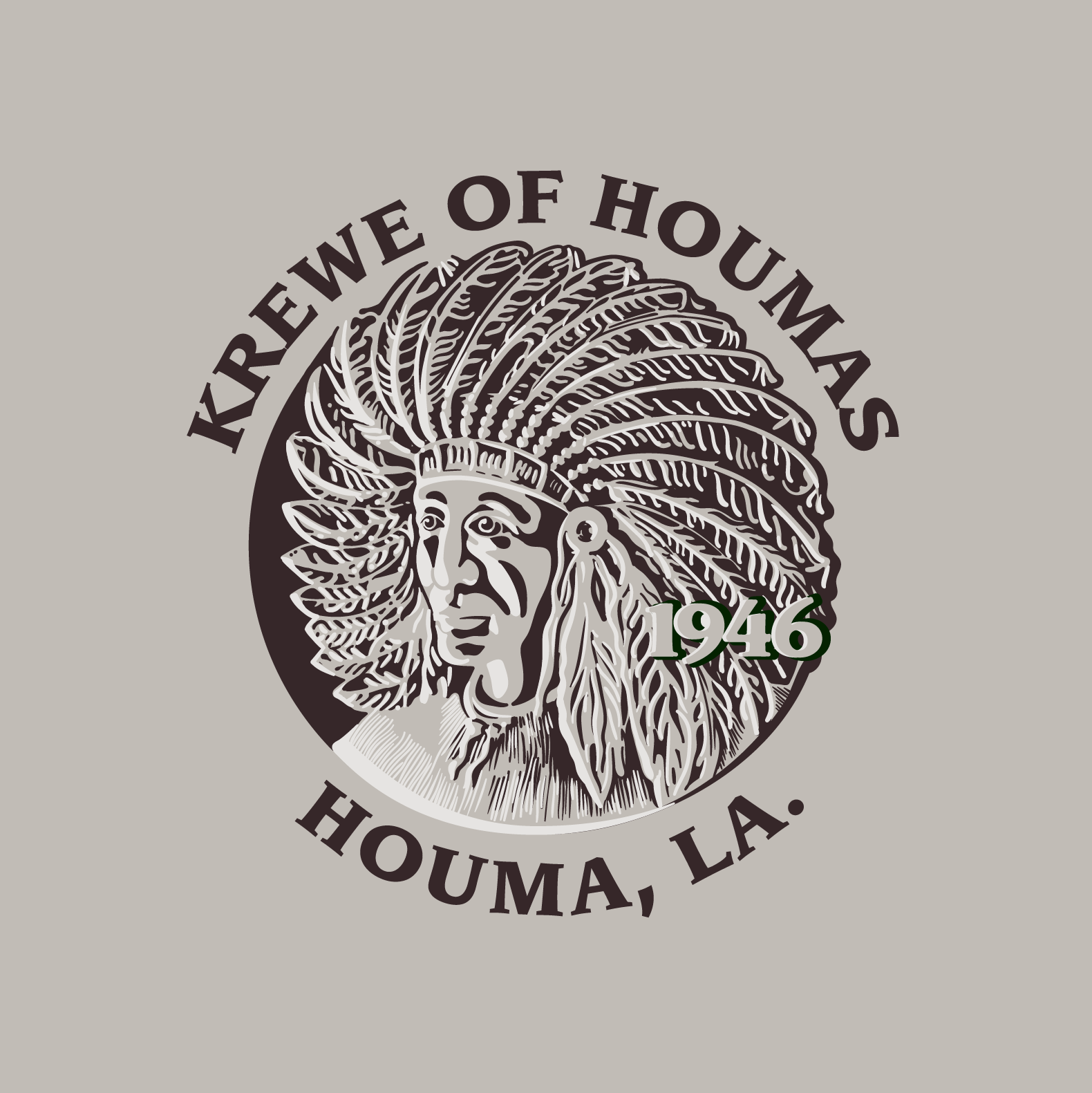 Krewe of Houmas Logo Rework