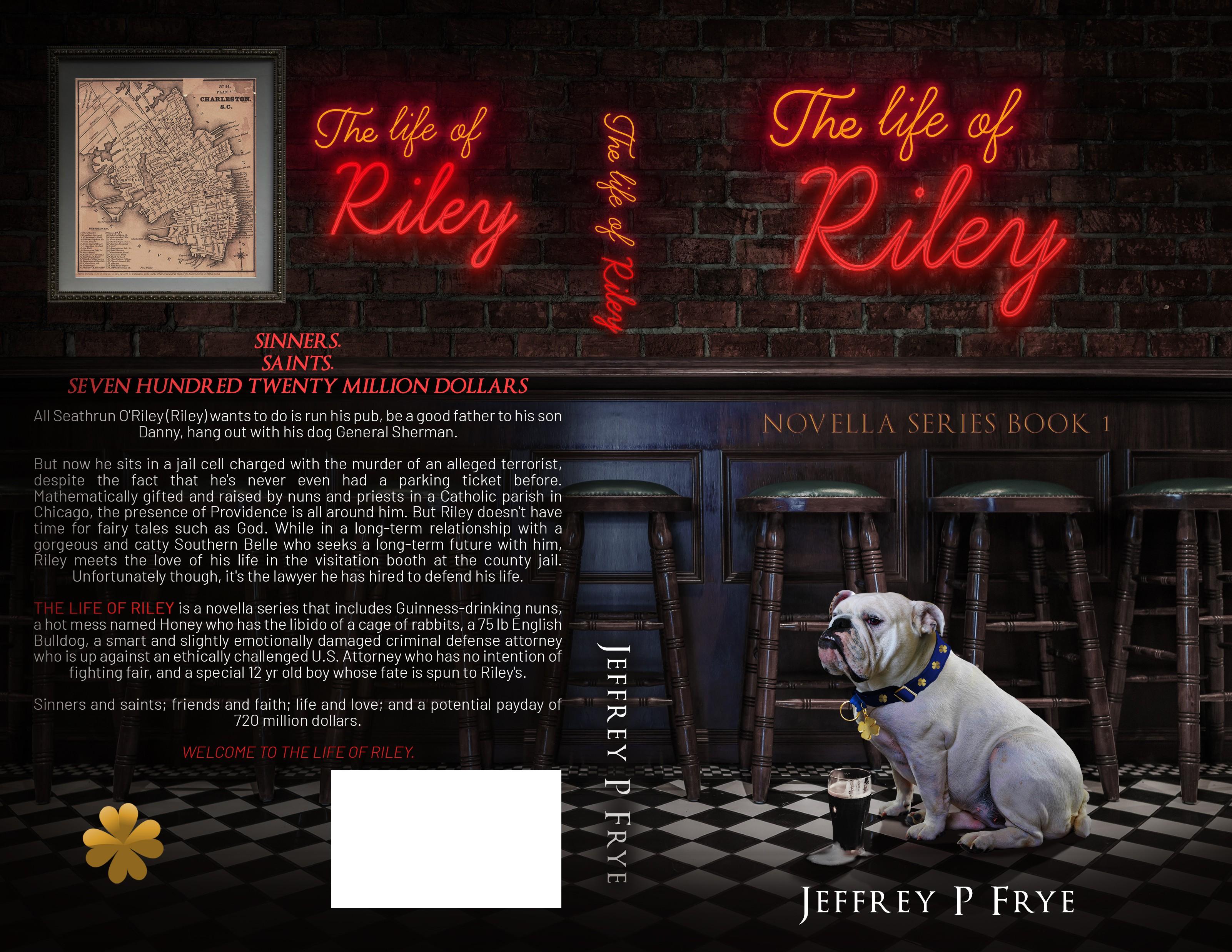 Bank robber turned novelist needs a stunning cover