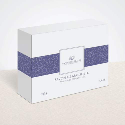 Create a packaging for our Soaps that expresses emotion, elegance and high value
