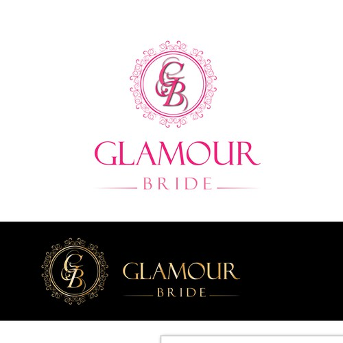 Logo & Branding for boutique wedding shop selling glamorous wedding dresses
