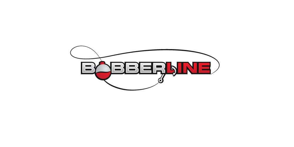 create a bobber and line image from the water view point back towards the rod and reel.