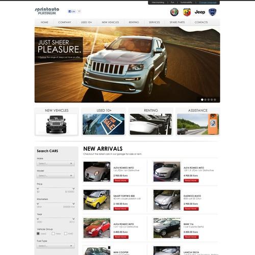 www.SprintAuto.com website